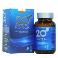 20 POWER - Tăng cường sinh lý - Sinh lực tràn trề như tuổi 20