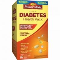 Viên uống Nature Made Daily Diabetes Health Pack điều hòa tiểu đường