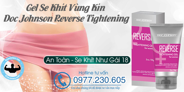 Gel Se Khít Vùng Kín Doc Johnson Reverse Tightening