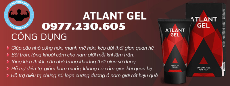 cong dung atlant gel