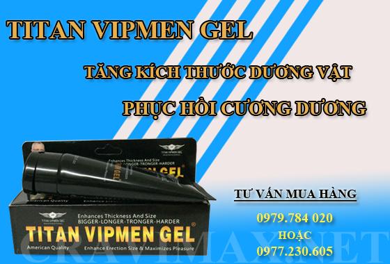 giải đáp mua titan vipmen gel ở đâu giá rẻ nhất