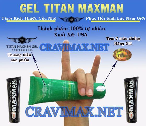 tác hại khi dùng titan gel